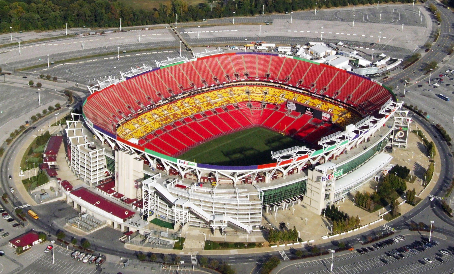 fedexfield, landover md | where's my seat?