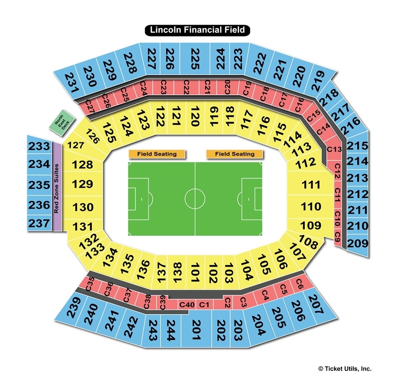 Soccer Seating Chart