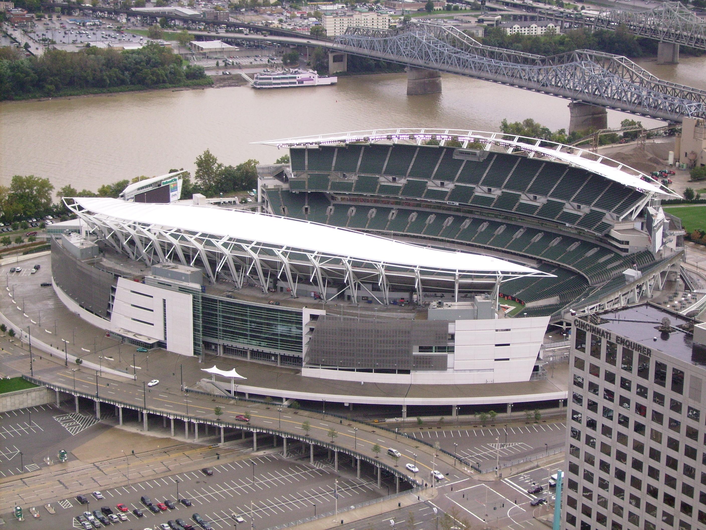 paul brown stadium cincinnati oh where s my seat